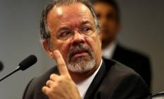 O ministro da Defesa, Raul Jungmann Foto: Ailton de Freitas / Agência O Globo/24-11-2016