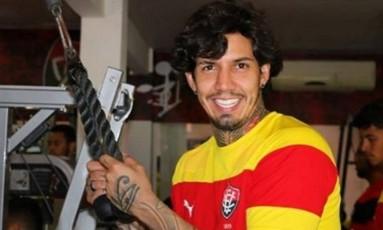 Victor Ramos, zagueiro do Vitória Foto: Reprodução Instagram