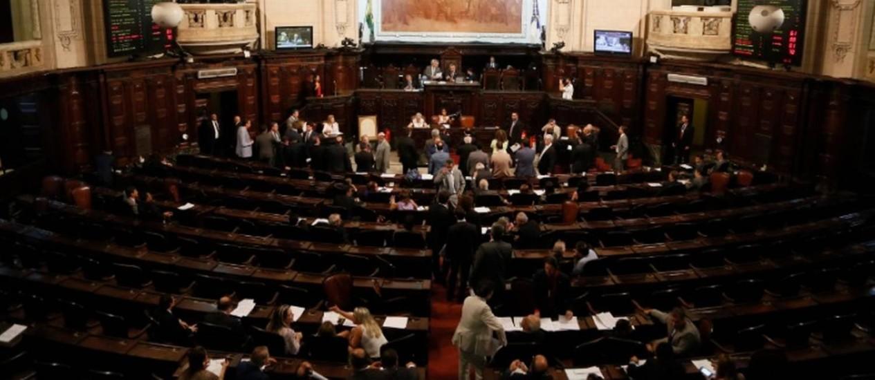 Primeira semana de votação na Alerj termina com insatisfação da base aliada Foto: Agência O Globo