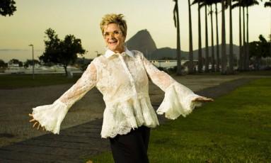 Gloria von Thurn und Taxis posa no Rio Foto: Monica Imbuzeiro / Agência O Globo