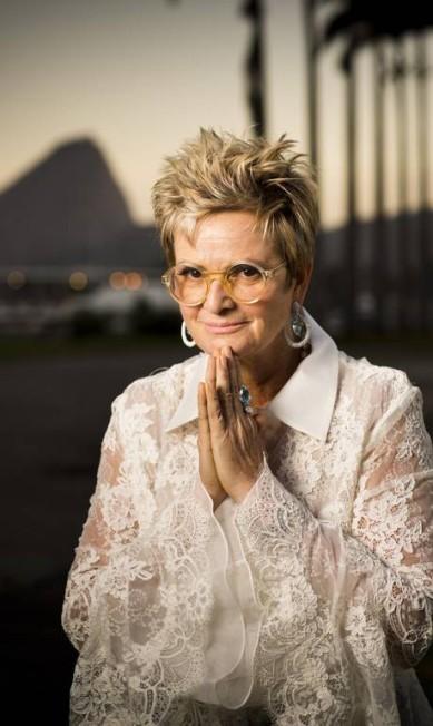 A princesa alemã Gloria von Thurn und Taxis, dona do palácio, esteve no Brasil para o lançamento do livro Monica Imbuzeiro / Agência O Globo