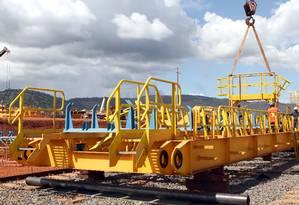 Projeto de minério de ferro no complexo de Carajás S11D, da Vale, em Canaã dos Carajás (PA). Foto: Divulgação/Vale