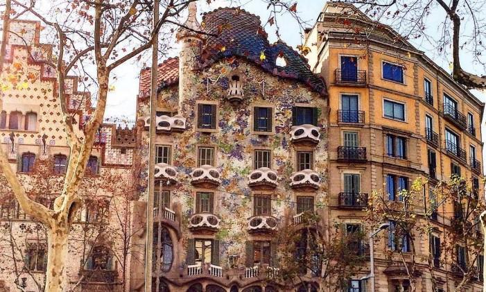 Casa Batlló, Barcelona, Espanha Foto: @livia_motag