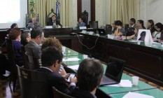 Reunião orçamentária na Alerj Foto: Divulgação / Alerj