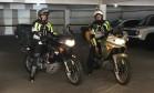 Turistas italianos cruzavam América do Sul de moto e foram parar no Morro dos Prazeres, em Santa Teresa, no Rio Foto: Reprodução/Facebook