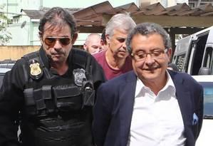Marqueteiro João Santana foi preso pela Polícia Federal Foto: Geraldo Bubniak / Agência O Globo / 26-03-2016