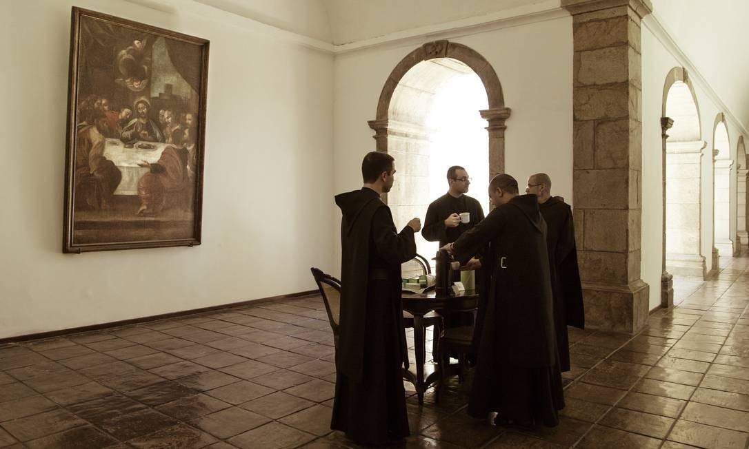 Em pouco mais de um século, seja por doações, ou pela compra de propriedades, os beneditinos juntaram um grande patrimônio Foto: Leo Martins / Agência O Globo