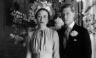 Amor. O Rei Eduardo VIII renunciou ao trono para se casar com a americana Wallis Simpson Foto: AP/03-06-1937