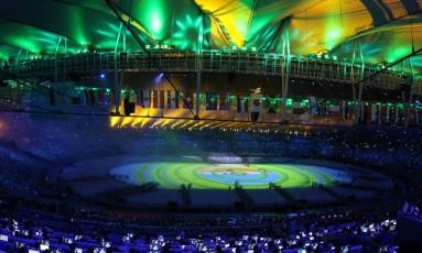 Maracanã na Olimpíada Rio-2016 Foto: Marcelo Theobald / Agência O Globo