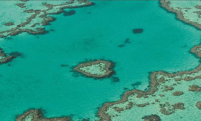 Grande Barreira de Corais Foto: Léa Cristina