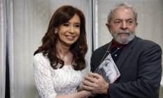 Lula se reúne com a ex-presidente da Argentina Cristina Kirchner no Instituto Lula Foto: Edilson Dantas/ Agência O Globo