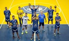 Invictos. O time do Canto do Rio que venceu o Campeonato Brasileiro Máster Foto: Leo Martins / Agência O Globo