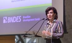 Maria Silvia Bastos, presidente do BNDES, em evento no Rio Foto: Leo Martins / Leo Martins/13-7-2016