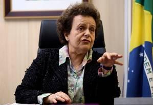 Eleonora Menicucci, ex-ministra da Secretaria de Políticas para as Mulheres Foto: O Globo / Gustavo Miranda