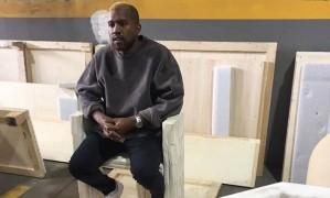 Kanye West louro Foto: Reprodução/Twitter @TeamKanyeDaily