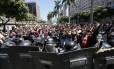 Crise fiscal. Manifestação contra o pacote de austeridade do Estado do Rio: governadores estão na berlinda Foto: Pablo Jacob/6-12-2016 / Agência O Globo