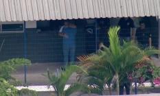 O ex-governador Sérgio Cabral deixa o Complexo de Bangu Foto: TV GLOBO / Reprodução
