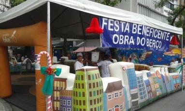 ONG Obra do Berço promove Festa de Natal para crianças carentes na Lagoa Foto: Divulgação