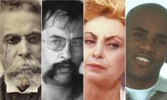 Machado de Assis, Paulo Leminski, Beatriz Segall e Claudinho Foto: Arte sobre fotos de arquivo ou reprodução