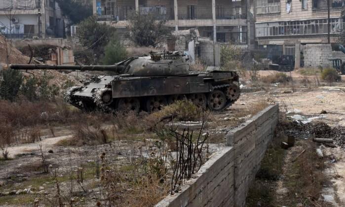 Exército da Síria consegue controle de parte importante de Aleppo