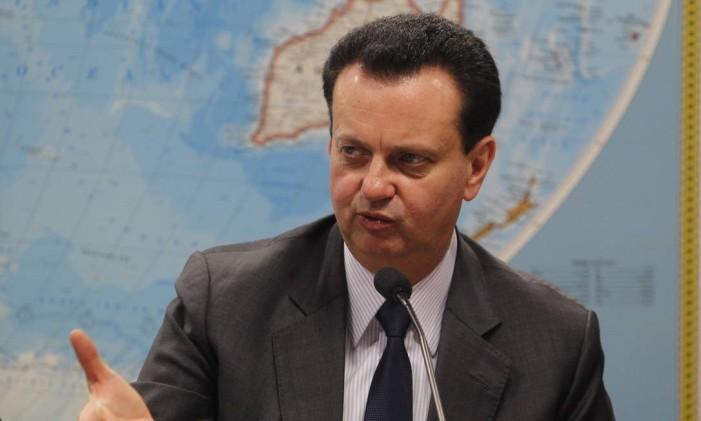 O ministro Gilberto Kassab Foto: Givaldo Barbosa / Agência O Globo / 25-3-2015