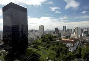 Prédio do BNDES na Avenida Chile, no Centro do Rio Foto: Custódio Coimbra / Agência O Globo