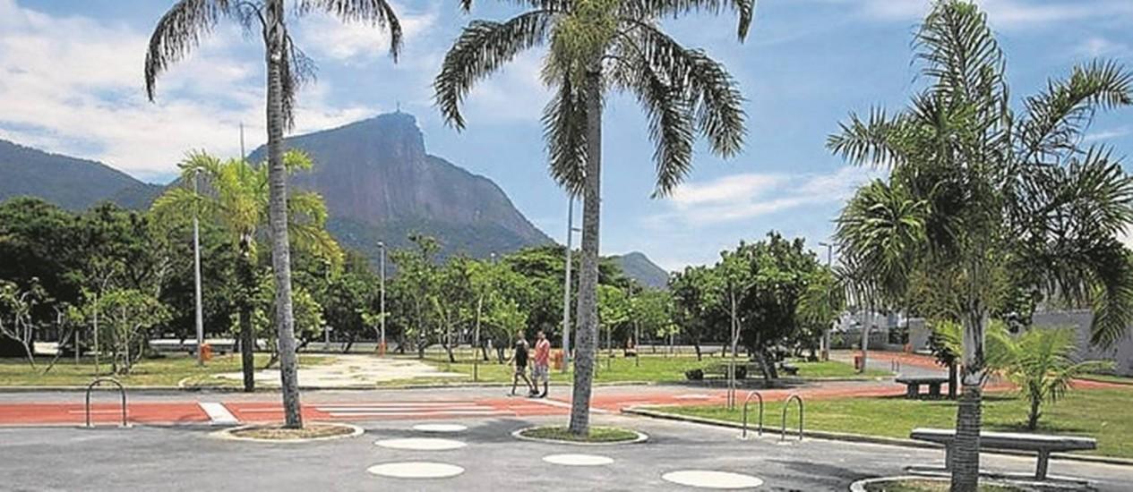 Cartão-postal. O Parque das Figueiras, na Lagoa, está aberto ao público Foto: Márcia Foletto