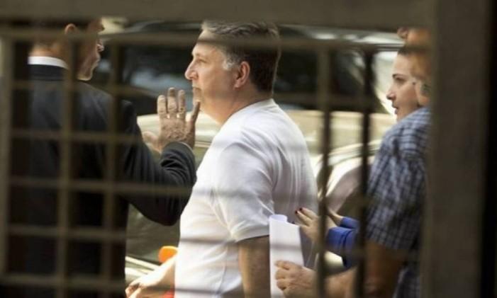 O ex-governador do Rio Anthony Garotinho é preso pela Polícia Federal Foto: Reprodução