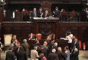 Deputados votam projeto de aumento do ICMs Foto: Thiago Lontra / Divulgação Alerj