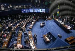 PEC prevê extinção do foro privilegiado nos casos em que autoridades cometerem crimes comuns, como roubo e corrupção, por exemplo Foto: Jorge William / O Globo