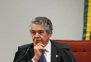O ministro Marco Aurélio Mello, do Supremo Tribunal Federal Foto: André Coelho / Agência O Globo / 6-12-2016