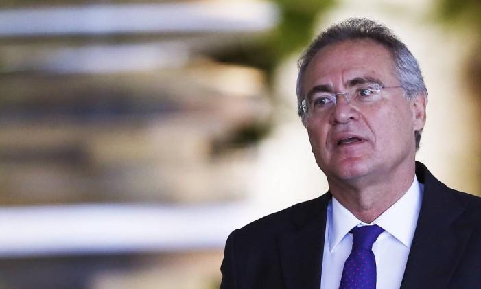 O presidente do Senado, Renan Calheiros (PMDB-AL) Foto: Jorge William / Agência O Globo / 14-12-2016