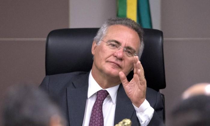 Renan recua e retira de pauta projeto contra abuso de autoridade