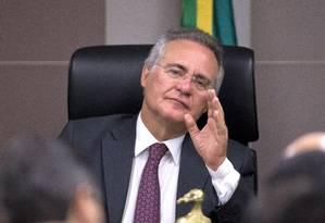 Renan diz lei contra abuso de autoridade é 'contra todo mundo', até 'guarda de esquina' Foto: Jorge William / Agência O Globo