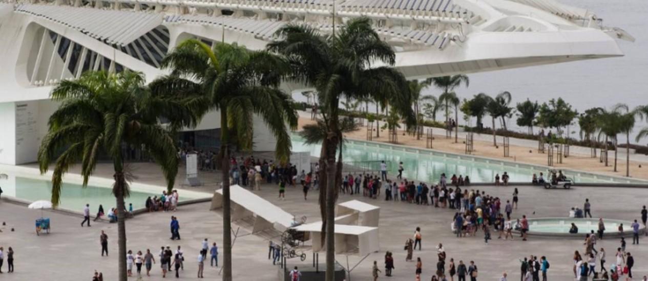Museu do Amanhã celebra um ano neste fim de semana Foto: Guito Moreto