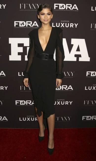 A jovem cantora e atriz Zendaya lançou uma coleção de roupa recentemente e por isso seu nome foi o quarto mais buscado da rede Greg Allen/Invision/AP