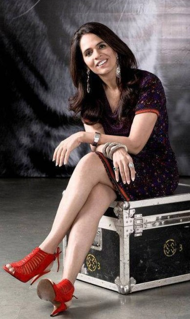 Você pode não ter ouvido falar em Anita Dongre, mas a estilista indiana é extremamente popular na rede. O que lhe garantiu a sétima colocação Facebook