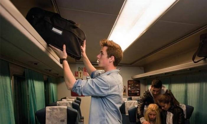 Economize na bagagem Foto: Rail Europe/Divulgação