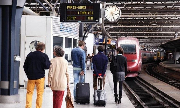 É preciso ser pontual Foto: Rail Europe/Divulgação