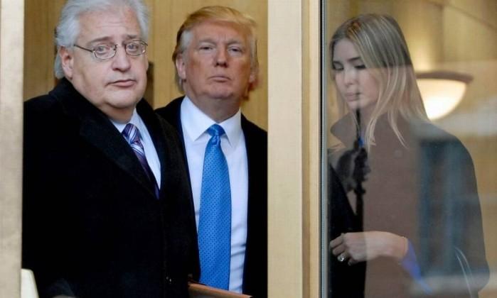 Trump escolhe um judeu americano como novo embaixador dos EUA em Israel