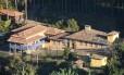 Vista aérea da propriedade Foto: Divulgação