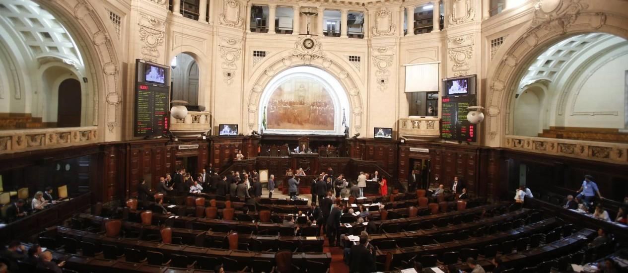 Votação para aumentar alíquotas de ICMS no Rio Foto: Alexandre Cassiano / O Globo
