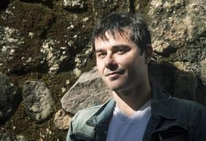 O escritor francês Laurent Binet em sua vinda ao Brasil para a Festa Literária Internacional de Paraty (Flip) Foto: Leo Martins/04-07-2013