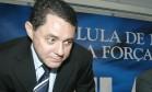 Ex-tesoureiro do PT Paulo Ferreira poderá deixar a prisão se pagar uma fiança de R$ 1 milhão Foto: Givaldo Barbosa / Arquivo O Globo 18.09.2006