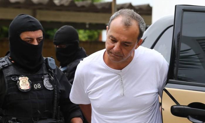 Resultado de imagem para Sergio cabral preso