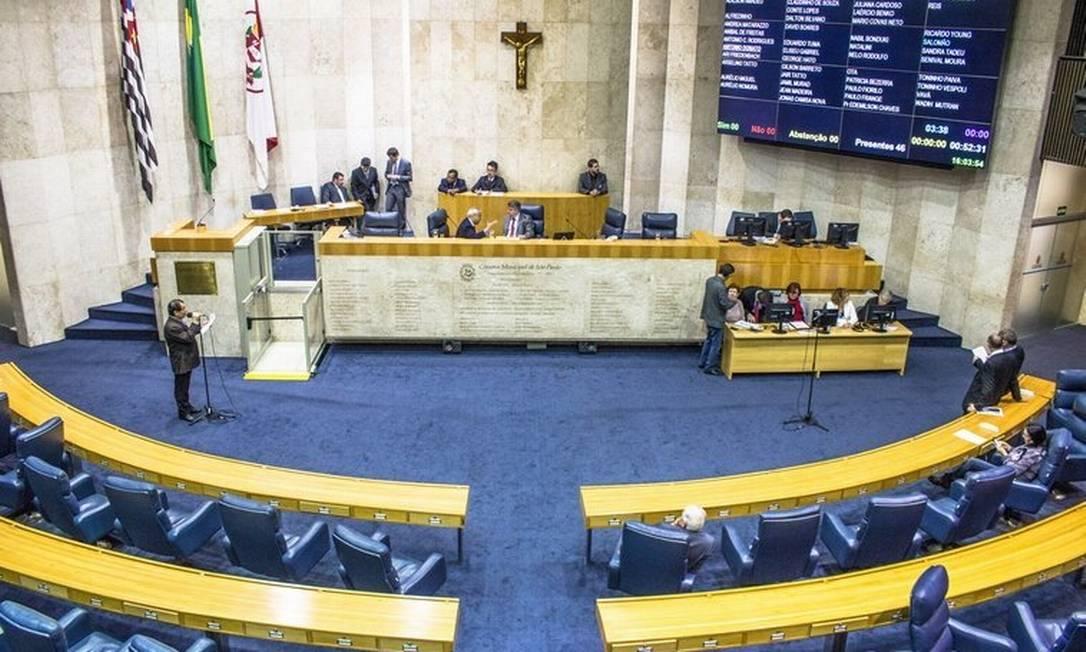 Sessão da Câmara de Vereadores de São Paulo Foto: Alf Ribeiro/Folhapress/03-08-2016 /