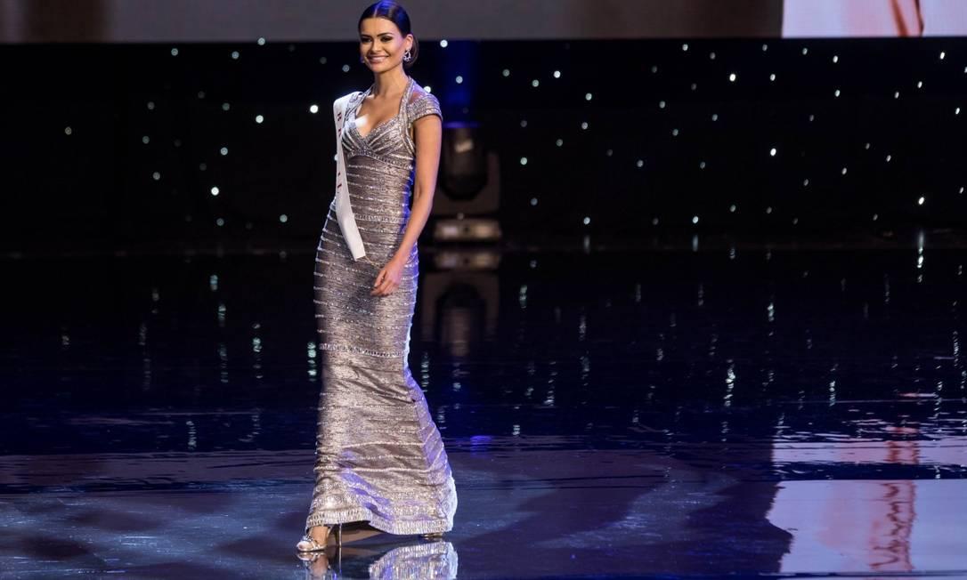 A Miss Brazil Beatrice Beserra Da Fontoura ZACH GIBSON / AFP