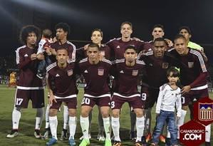 O time do Carabobo, nda Venezuela, disputará a sua primeira Libertadores Foto: Reprodução/Site do clube