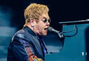 O cantor e compositor britânico Elton John Foto: Johannes Lovund / Divulgação