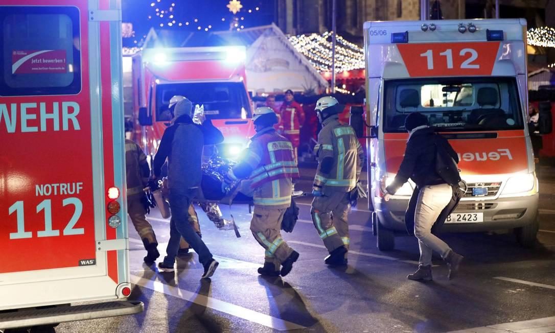 O local abriga a mais tradicional feira natalina de Berlim Foto: PAWEL KOPCZYNSKI / REUTERS